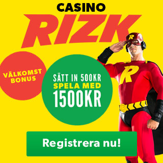 200% bonus hos Rizk casino
